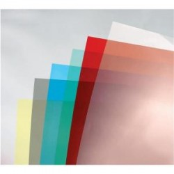 GBC-ColorClear-(A4)-PVC-Binding-Covers-180-Microns