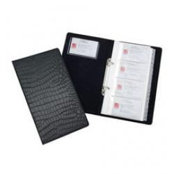 rexel-croc-business-card-book-(black)-2103671