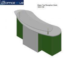 1.2.Reception Desk 160x108H