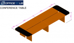 460x150 Conference table