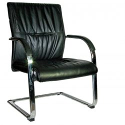 A 700 LEATHER VISITOR CHAIR