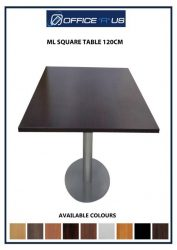 ML SQUARE TABLE 120CM