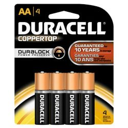 Duracell Batteries Pack of 4 AA &#821...
