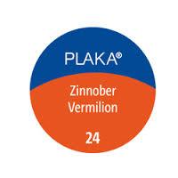 Pelikan Plaka Vermilion Paint, #24 Vermilion, 50ml Bottle 101063