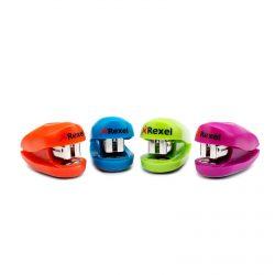 Buddy Mini Stapler Assorted Colours 2...