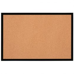 Cork Board with Black Frame 585x430mm...