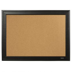 Cork Board with Black Wooden Frame 58...