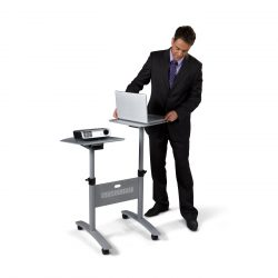 Multimedia Projection Trolley – Twin Platform 1900791