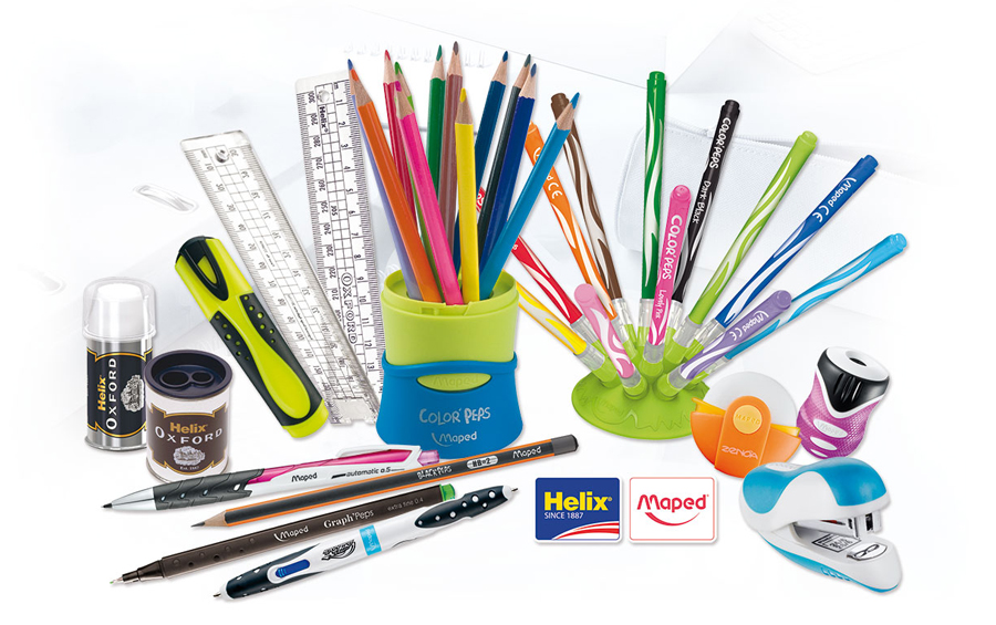 Helix Maped Stationery Items
