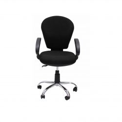 A14 STANDARD OPERATOR CHAIR - BLACK FABRIC