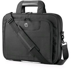 "For your everyday commute, the HP 35.5cm (14"") Value Topload. Streamlined professional appeal with multiple pockets, easy carrying, and protection for notebooks up to 35.5cm (14"")."