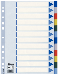 15262 - Esselte - Divider A4 Pp 12 Tabs
