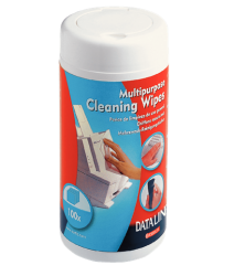 67656 - Esselte - Cleaning Wipes 100 Pcs