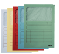 39500099 - Leitz - Window Folder Z4 Assorted