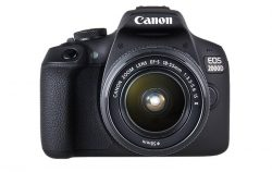 CANON EOS 2000D WITH LENS KIT